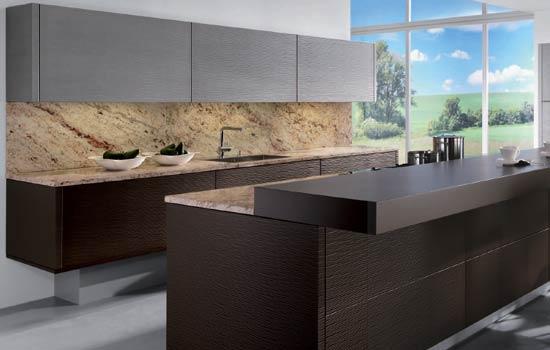 Kuchynské pracovné dosky: luxus menom kameň