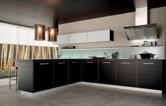 Na ilustračnej fotografii je kuchyňa od talianskeho výrobcu