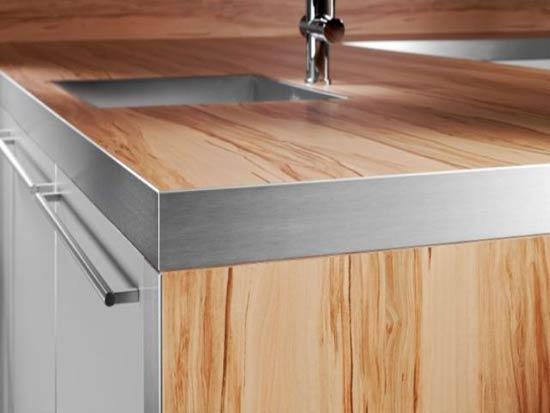 Kuchynské pracovné dosky: v hlavnej úlohe laminát