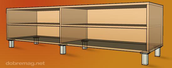 nožičky na nábytok - dobré usporiadanie