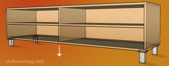 Nožičky na nábytok: kde a koľko?