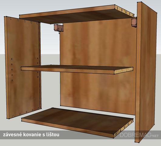 Kuchynský nábytok: ako zavesiť horné skrinky?