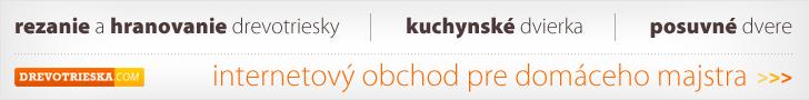 kuchynske dvierka - porez drevotriesky - posuvné dvere